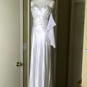 Cinderella Design Gown w/Scarf